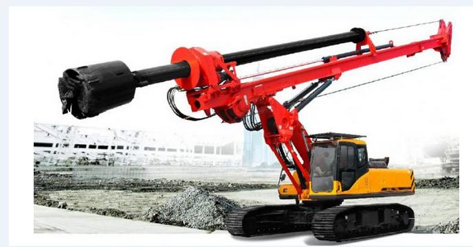 以下图片是机锁杆小型旋挖钻机:价格68.8-78.8万