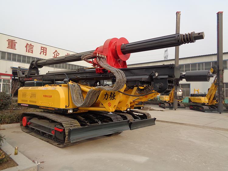 山东小型旋挖钻机系列产品之20米机锁杆旋挖机图片