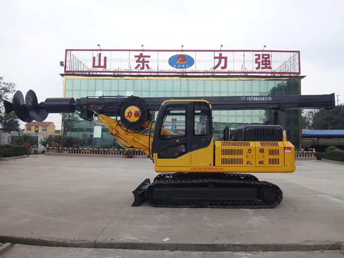 旋挖机安全装置配备齐全图片展示