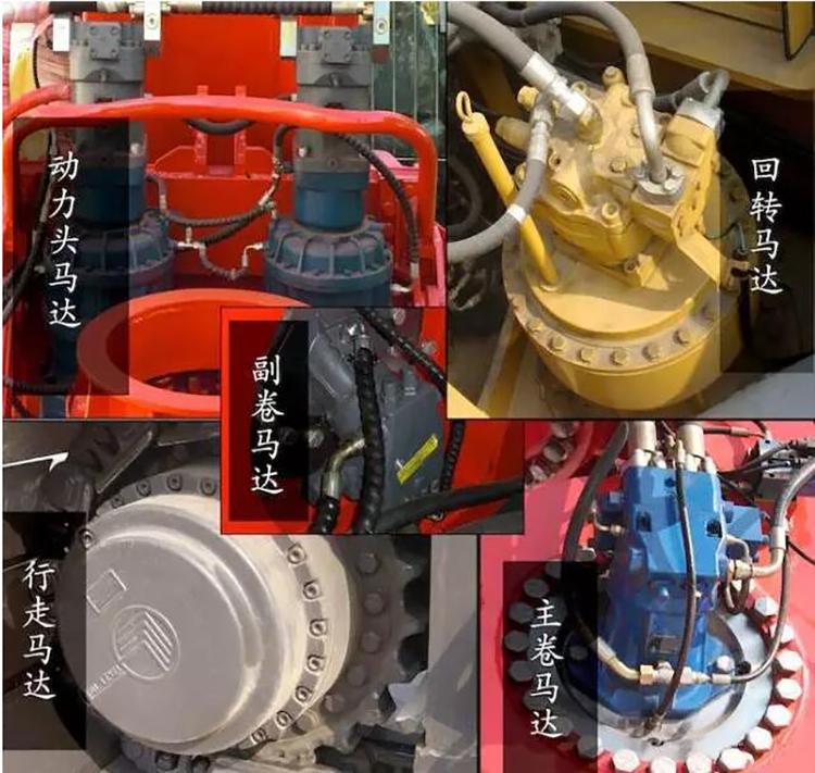 旋挖机液压系统图片